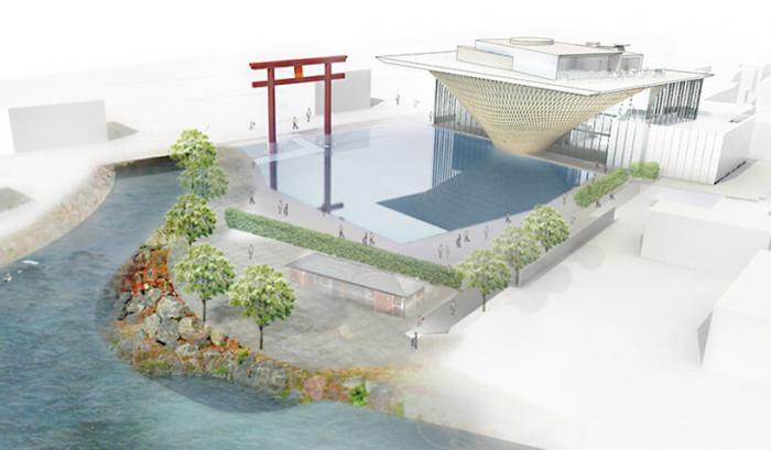 Центр всемирного наследия горы Фудзи в Японии