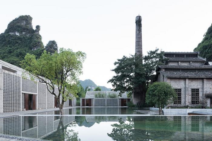 Студия Vector Architects превратила сахарную мельницу в гостиничный комплекс