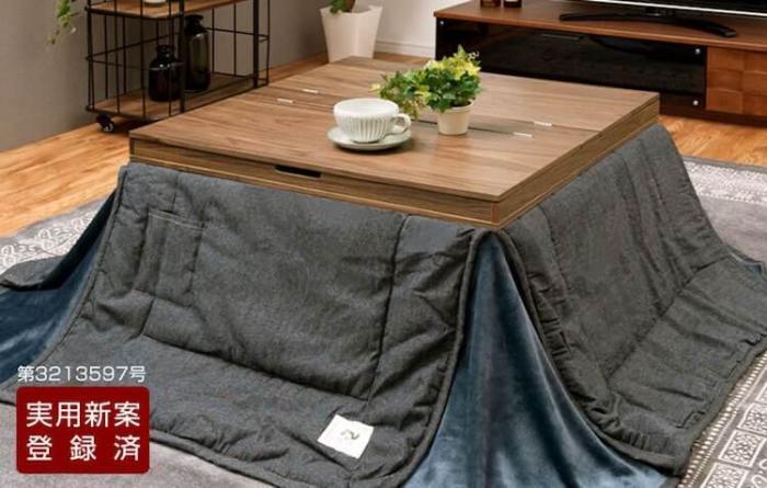 Стол с подогревом и одеялами