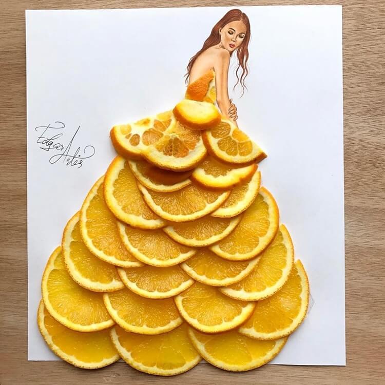 Платья из еды, фото 17