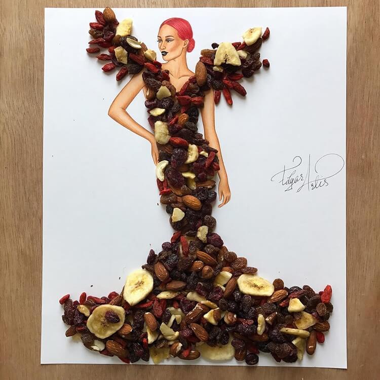 Платья из еды, фото 5