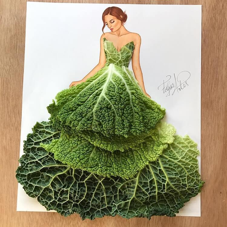Платья из еды, фото 6
