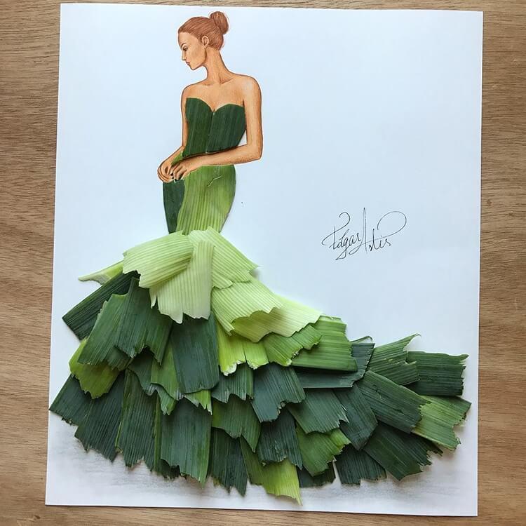 Платья из еды, фото 7
