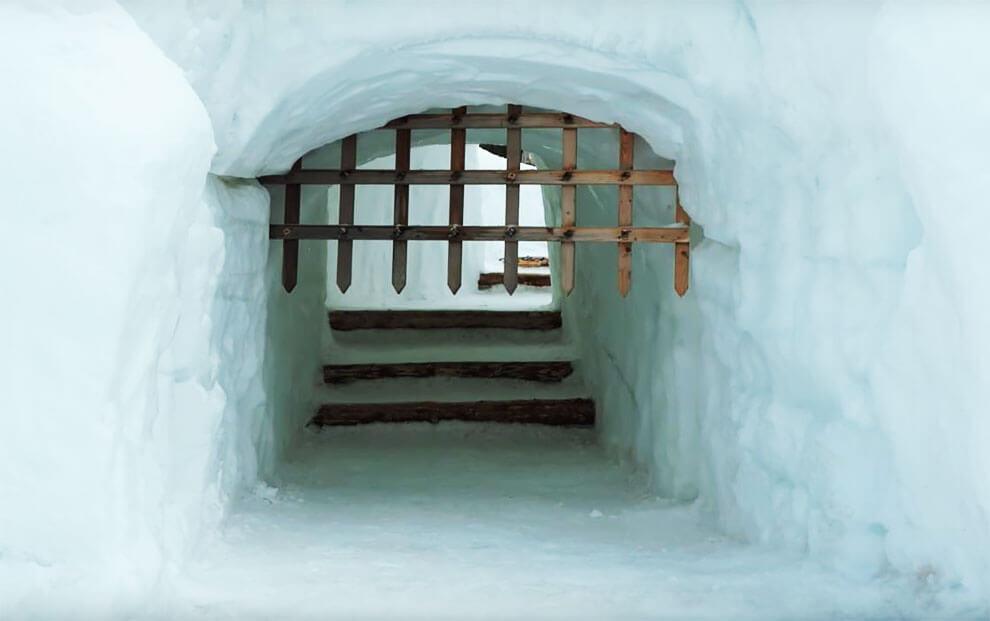 Самый большой в мире лабиринт из снега, фото 5