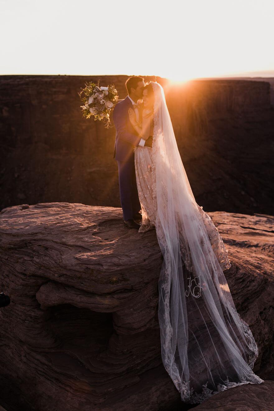 Свадебная фотосессия в воздухе, фото 17