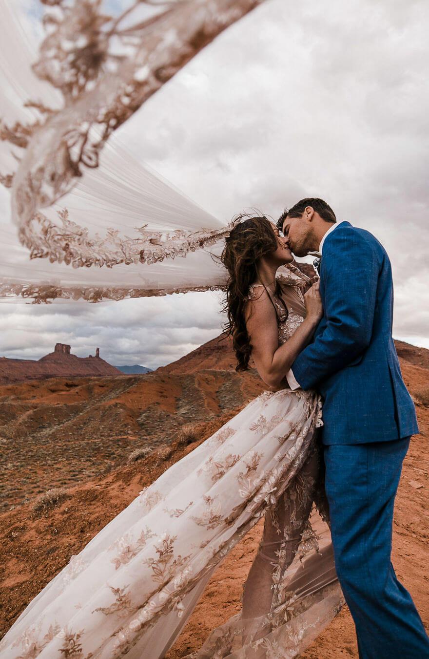 Свадебная фотосессия в воздухе, фото 18