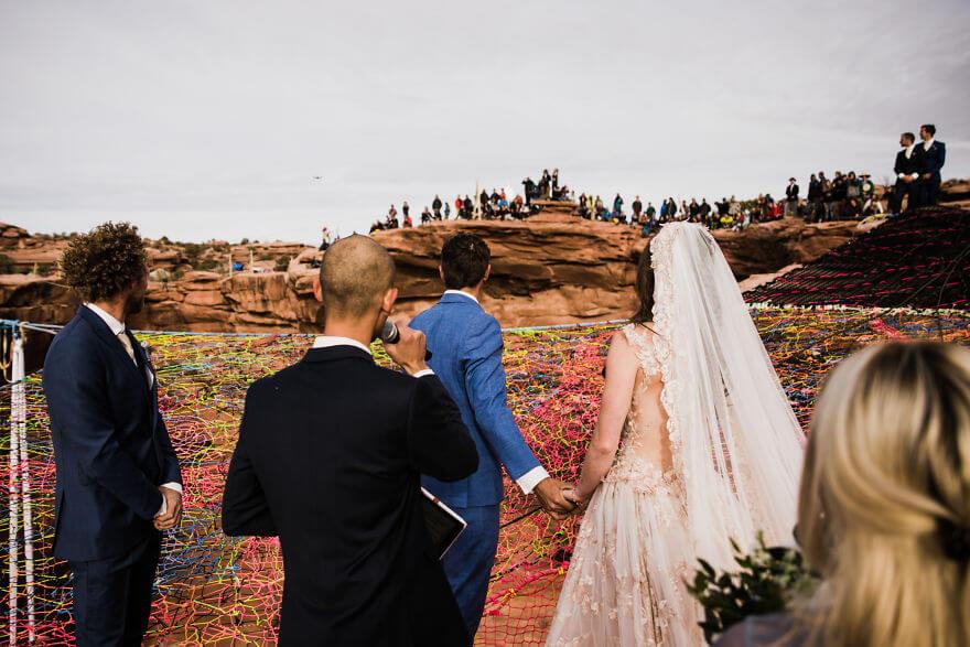 Свадебная фотосессия в воздухе, фото 5