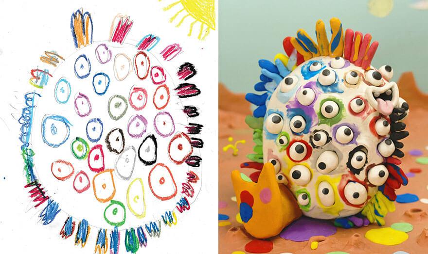 детские монстры от профессиональных художников, фото 10