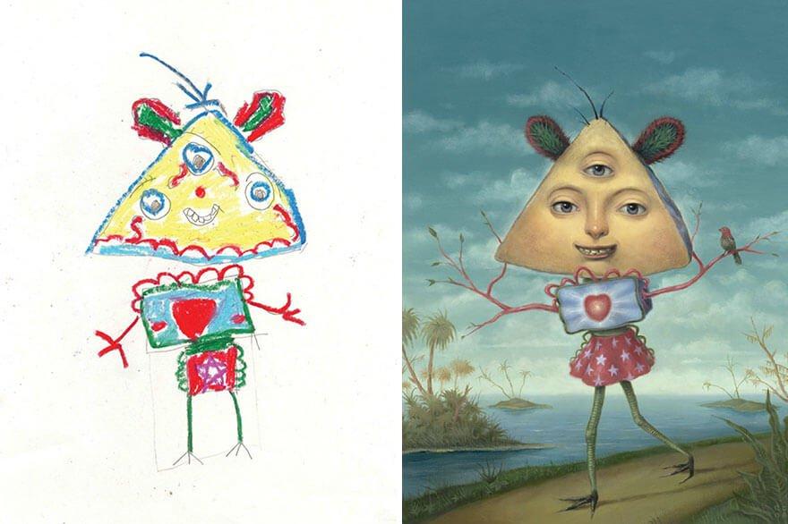 детские монстры от профессиональных художников, фото 11