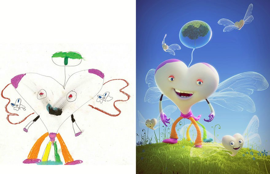 детские монстры от профессиональных художников, фото 12