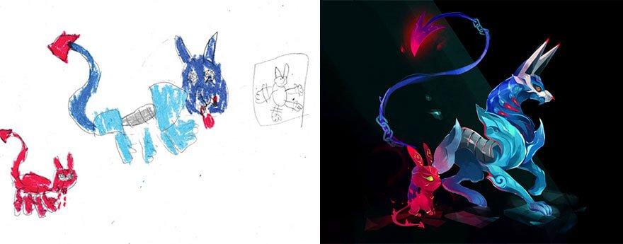 детские монстры от профессиональных художников, фото 14