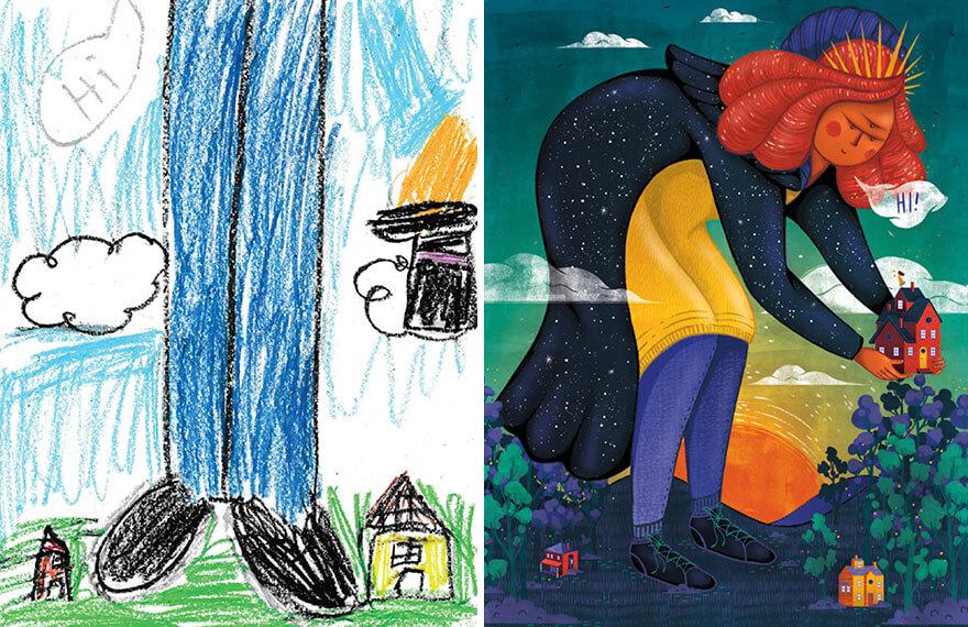 детские монстры от профессиональных художников, фото 17