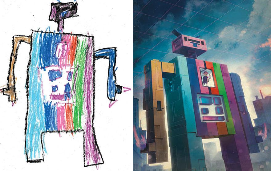 детские монстры от профессиональных художников, фото 19