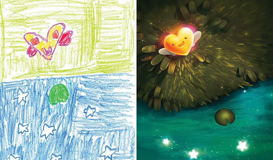 детские монстры от профессиональных художников, фото 20