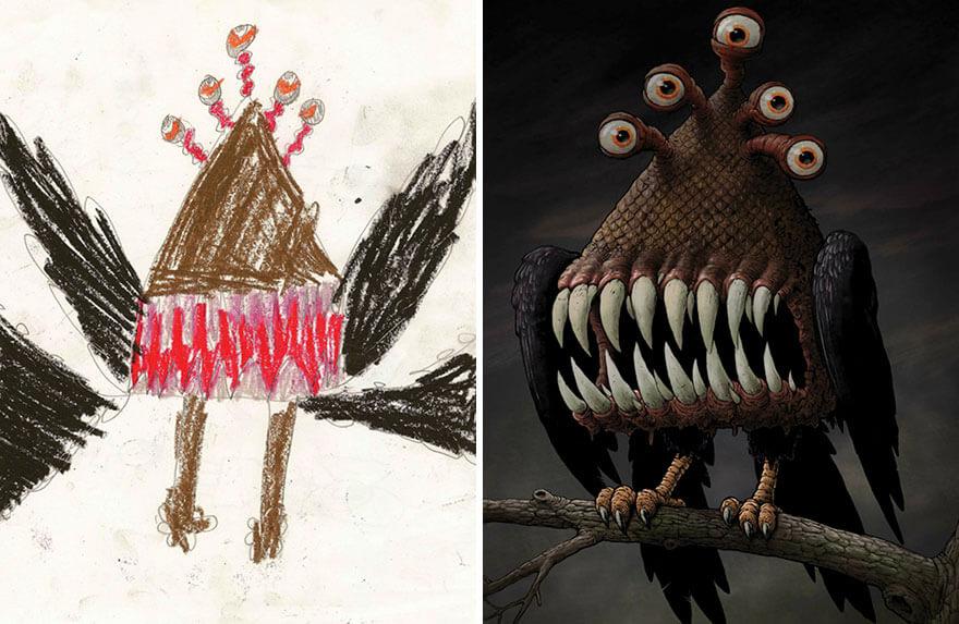 детские монстры от профессиональных художников, фото 3