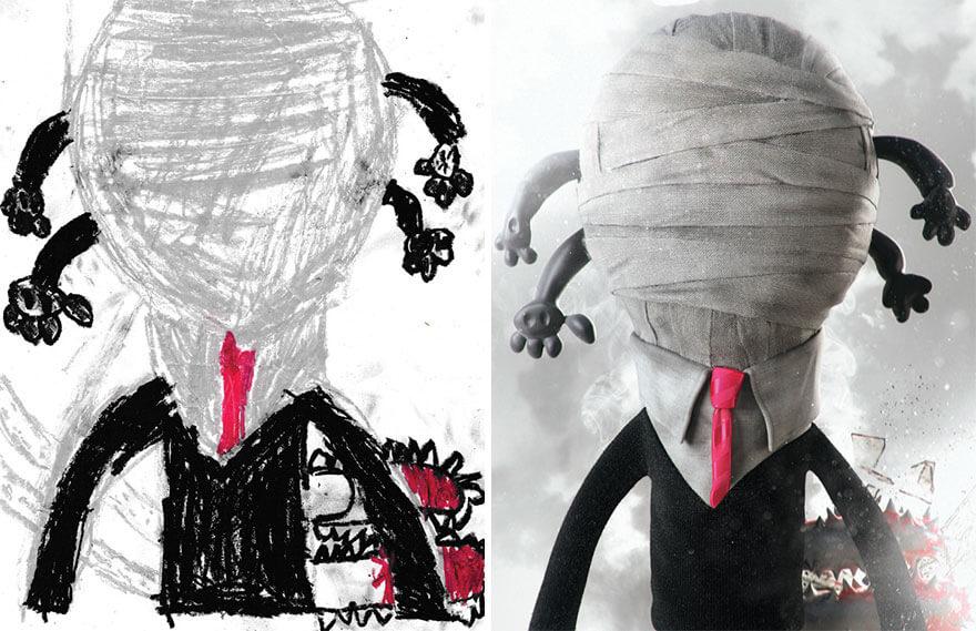 детские монстры от профессиональных художников, фото 4
