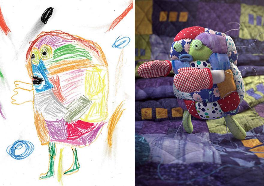 детские монстры от профессиональных художников, фото 5