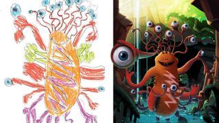 детские монстры от профессиональных художников, фото 7