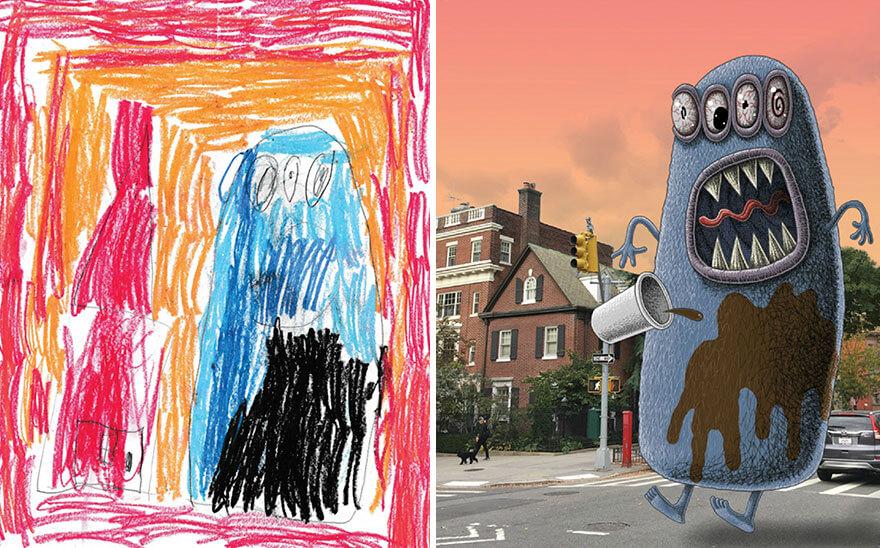 детские монстры от профессиональных художников, фото 9