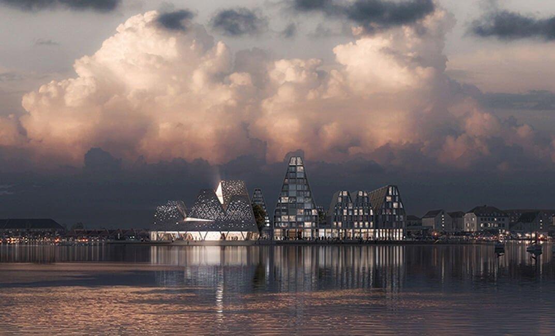 дизайн Прибрежного культурного центра в Копенгагене, фото 0