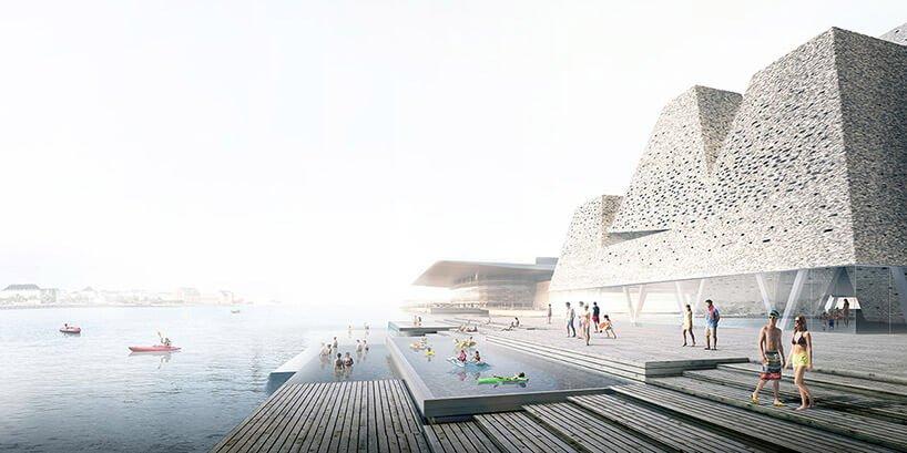дизайн Прибрежного культурного центра в Копенгагене, фото 1