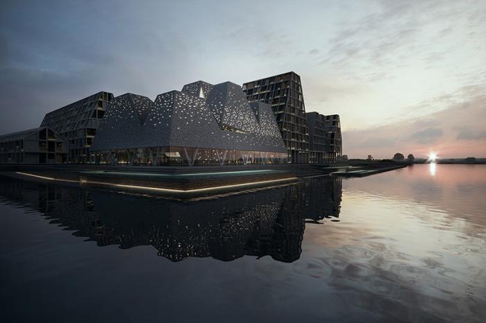 Прибрежный культурный центр в Копенгагене демонстрирует всю важность воды