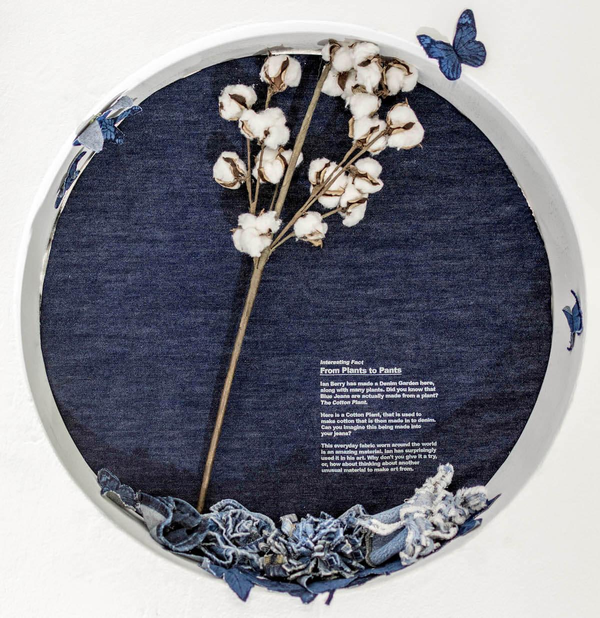 Инсталляция из джинсов, фото 5