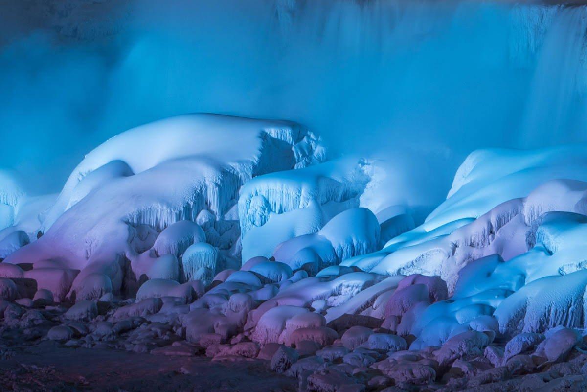 Ниагарский водопад в январский мороз 2018, фото 5