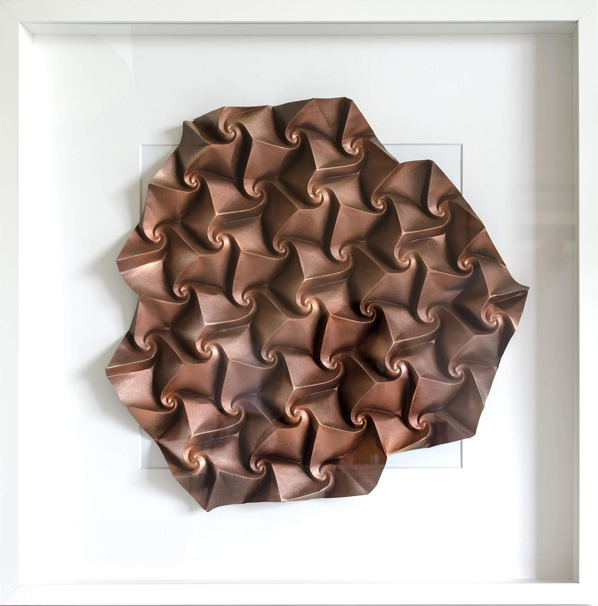 Шедевры в технике Кусудама и тесселяции, оригами от Екатерины Лукашевой, фото 10