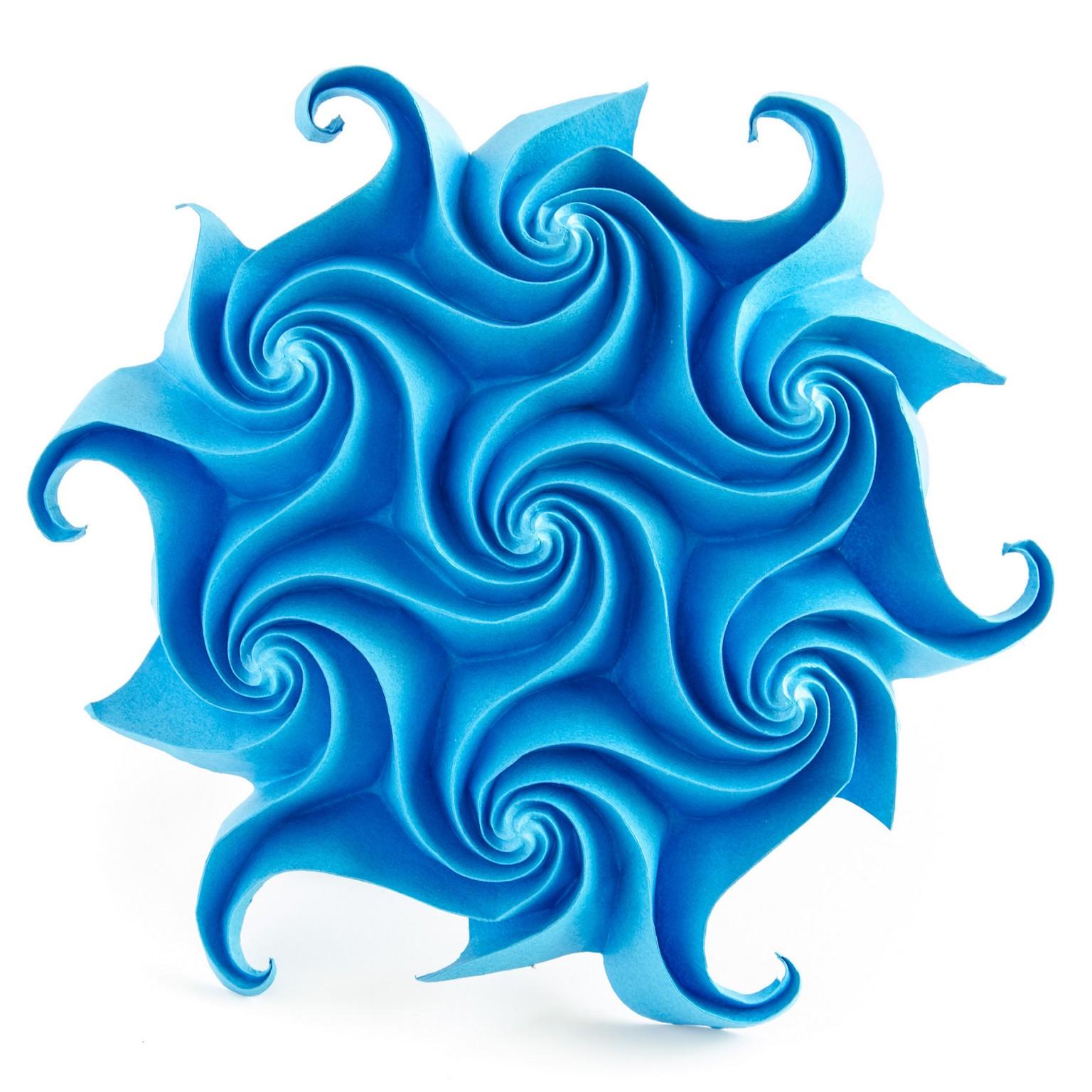 Шедевры в технике Кусудама и тесселяции, оригами от Екатерины Лукашевой, фото 4