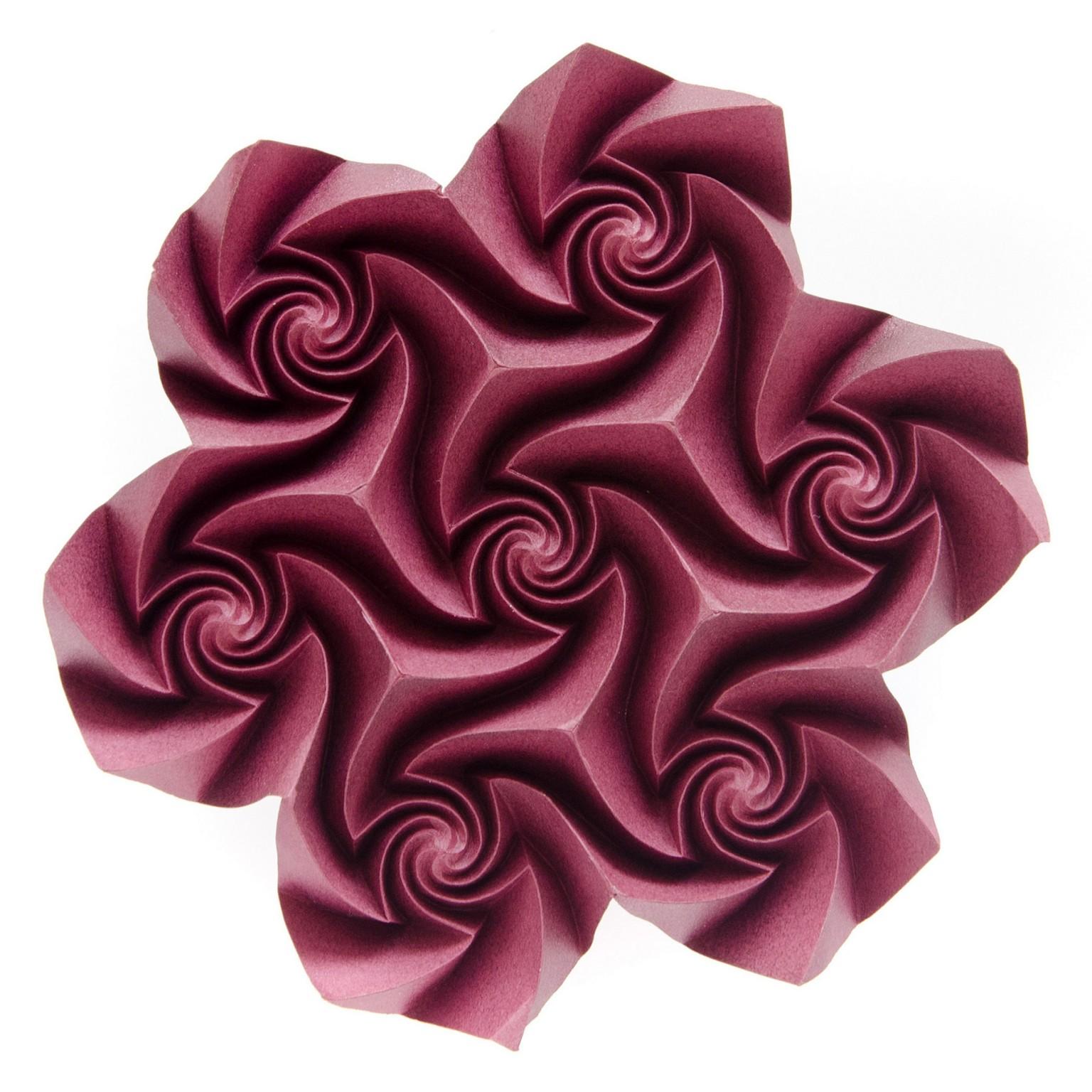 Шедевры в технике Кусудама и тесселяции, оригами от Екатерины Лукашевой, фото 5