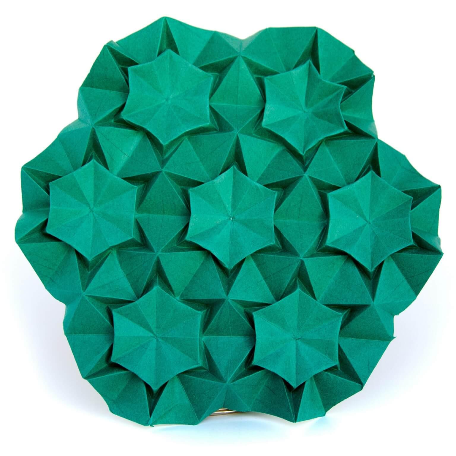Шедевры в технике Кусудама и тесселяции, оригами от Екатерины Лукашевой, фото 9