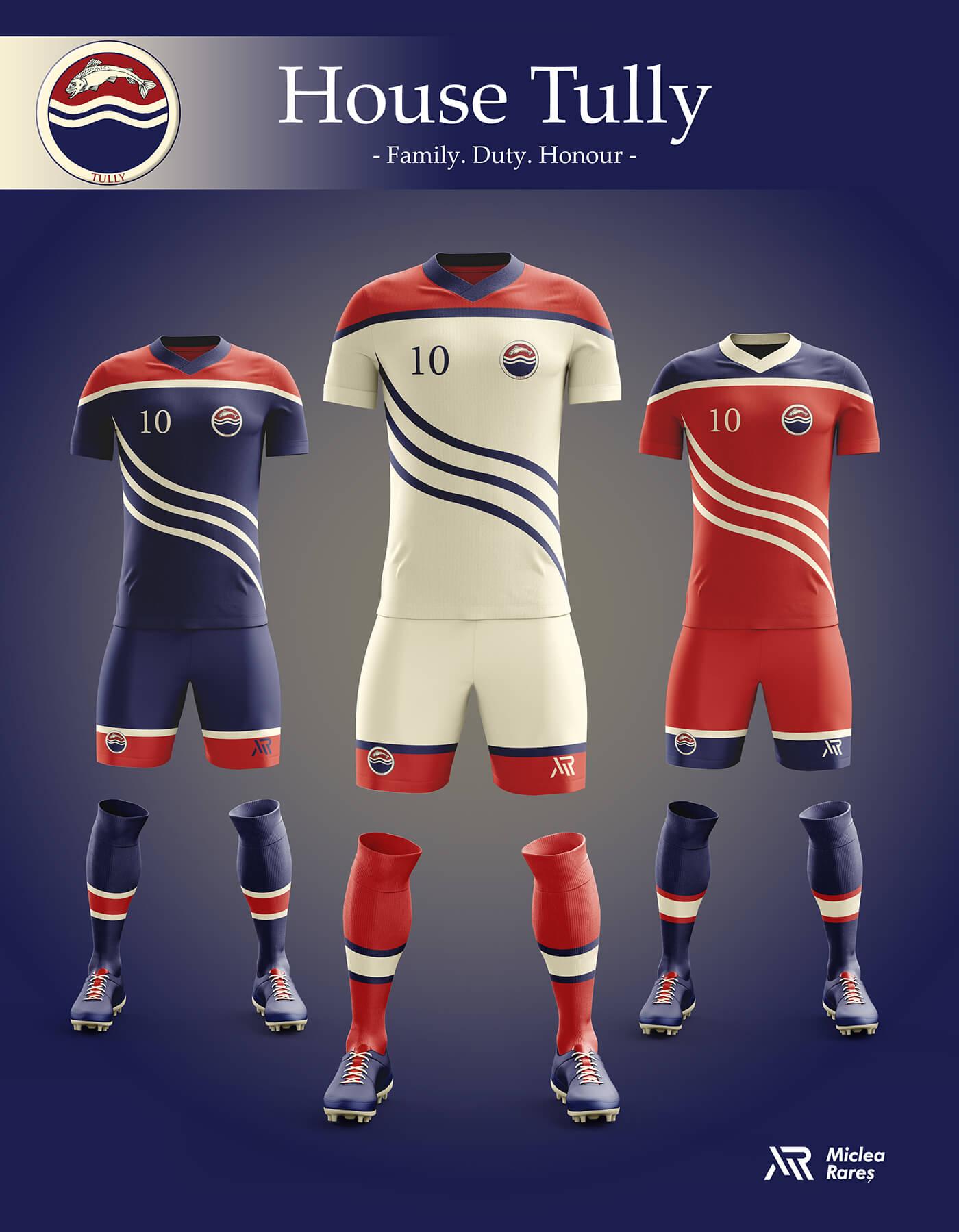 Уникальный дизайн футбольной экипировки Игры престолов, фото 10