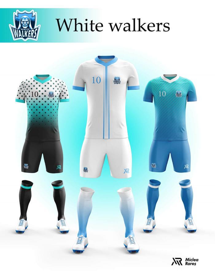 Уникальный дизайн футбольной экипировки придётся по вкусу поклонникам сериала «Игры престолов»