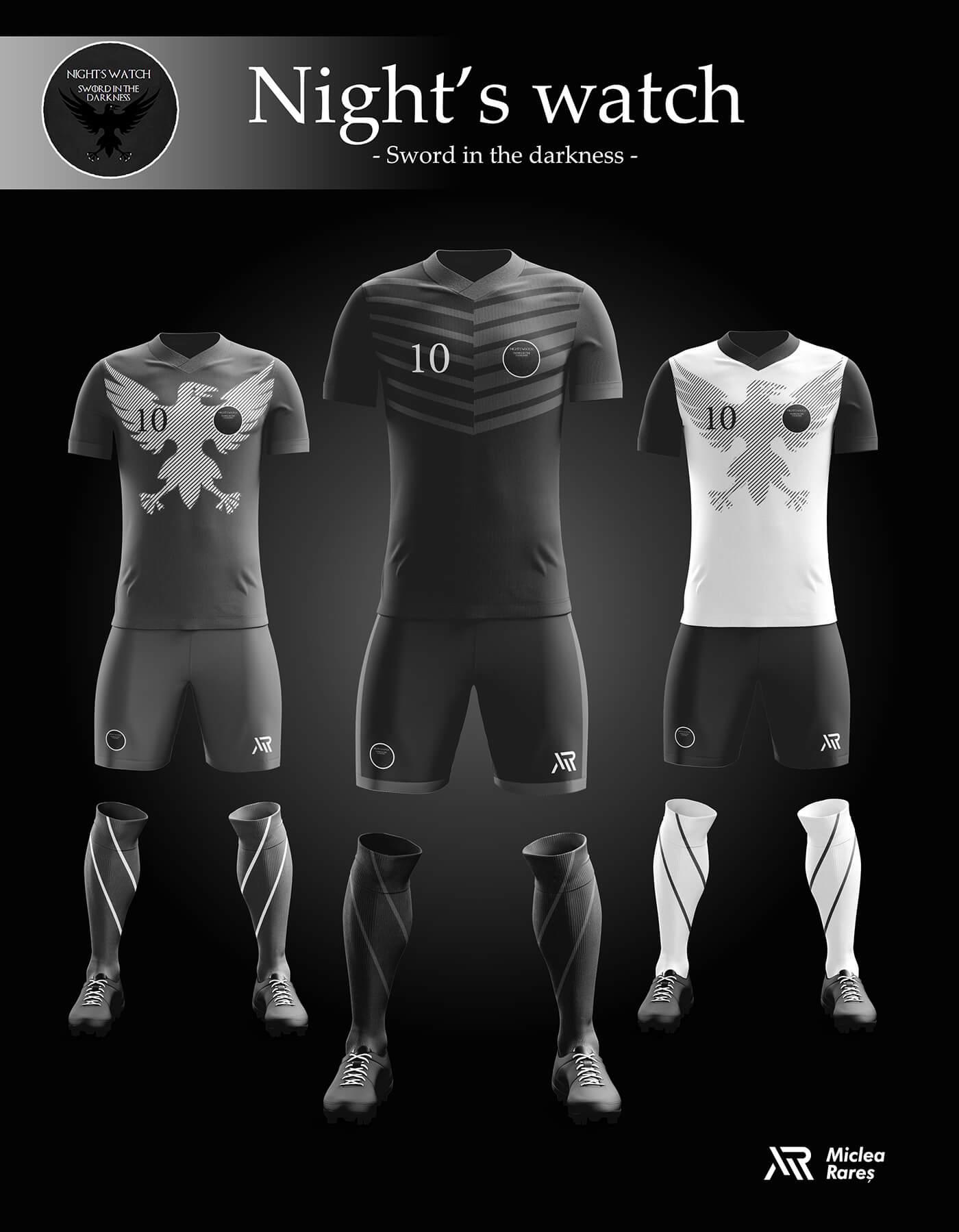 Уникальный дизайн футбольной экипировки Игры престолов, фото 7
