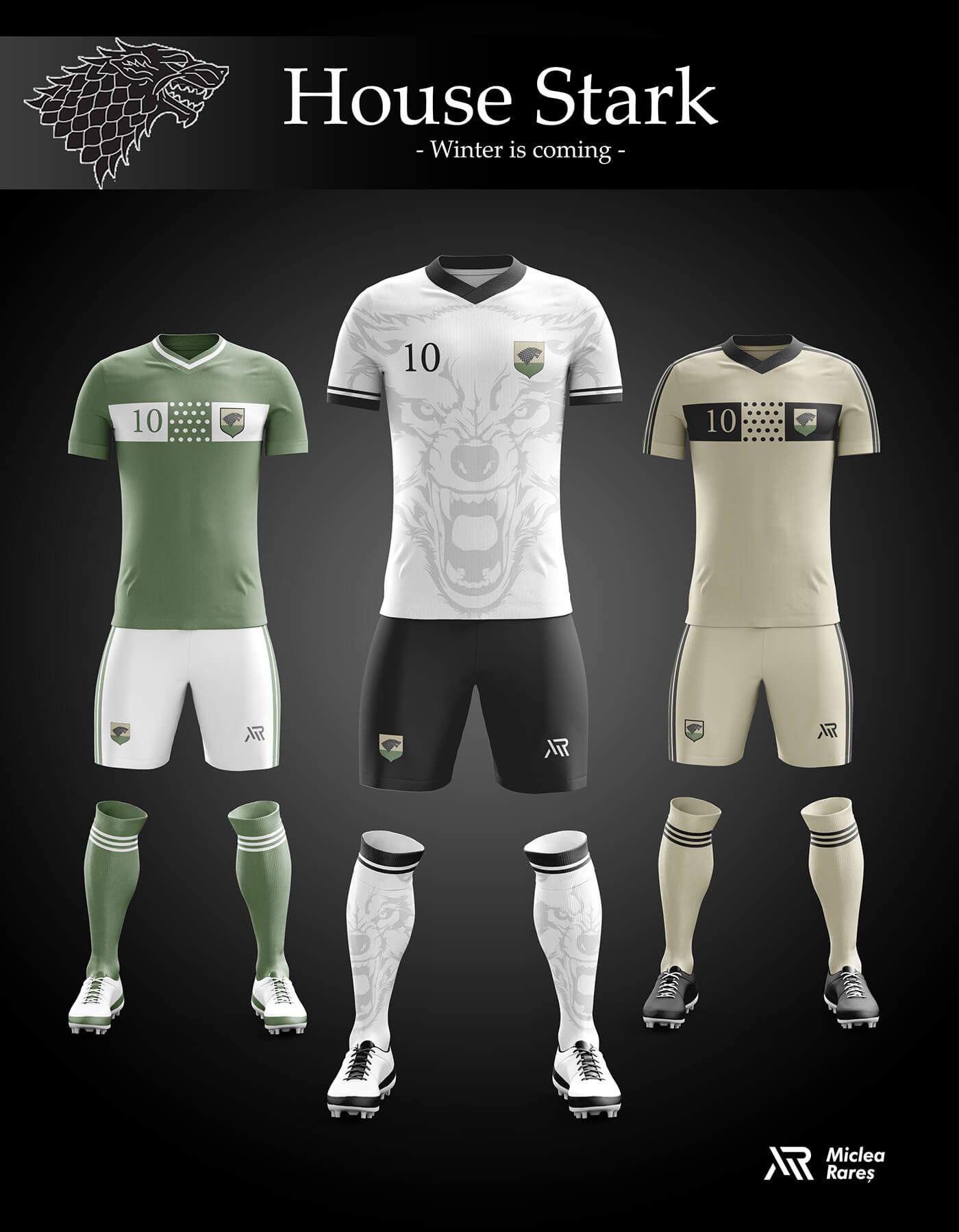Уникальный дизайн футбольной экипировки Игры престолов, фото 8