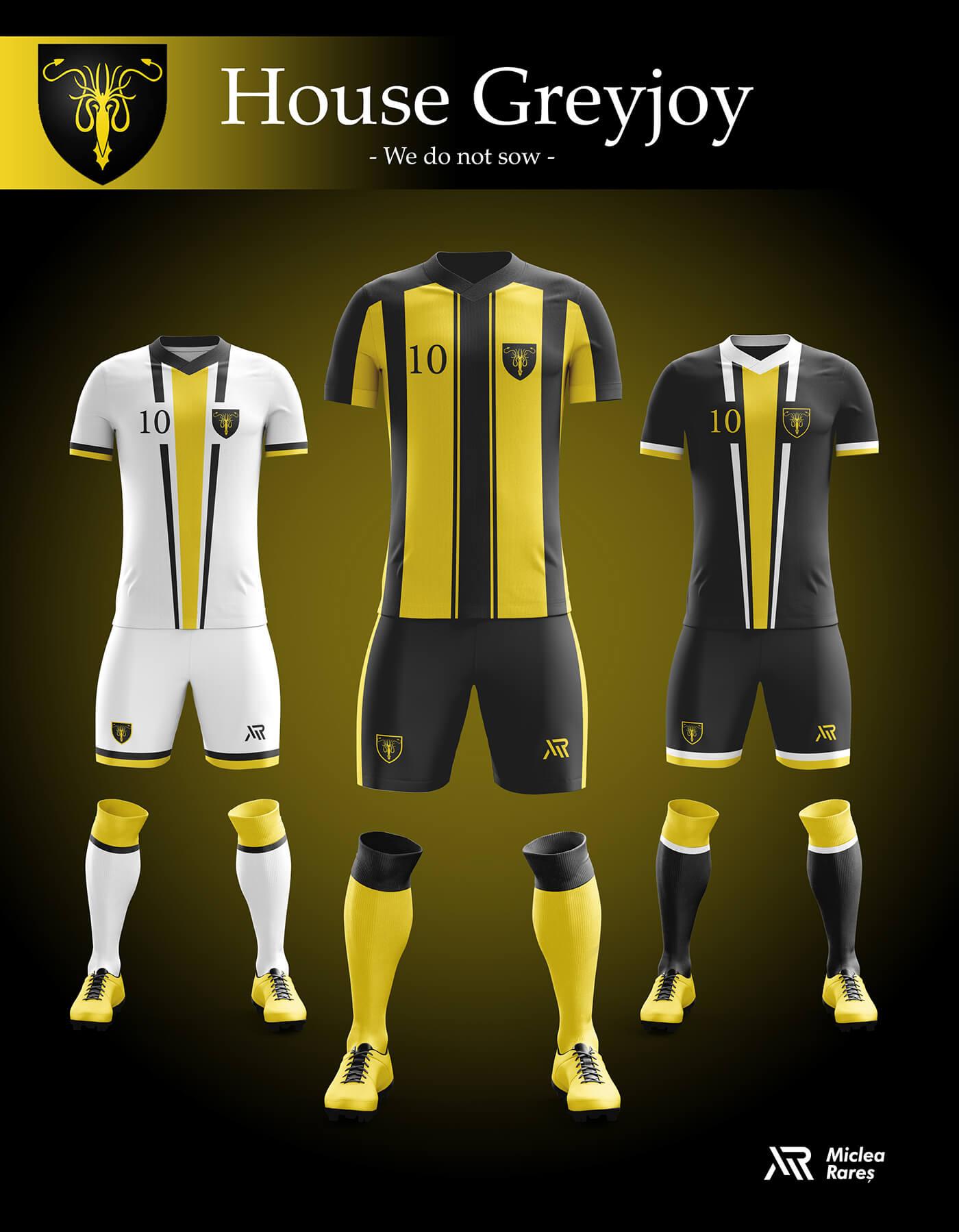 Уникальный дизайн футбольной экипировки Игры престолов, фото 4