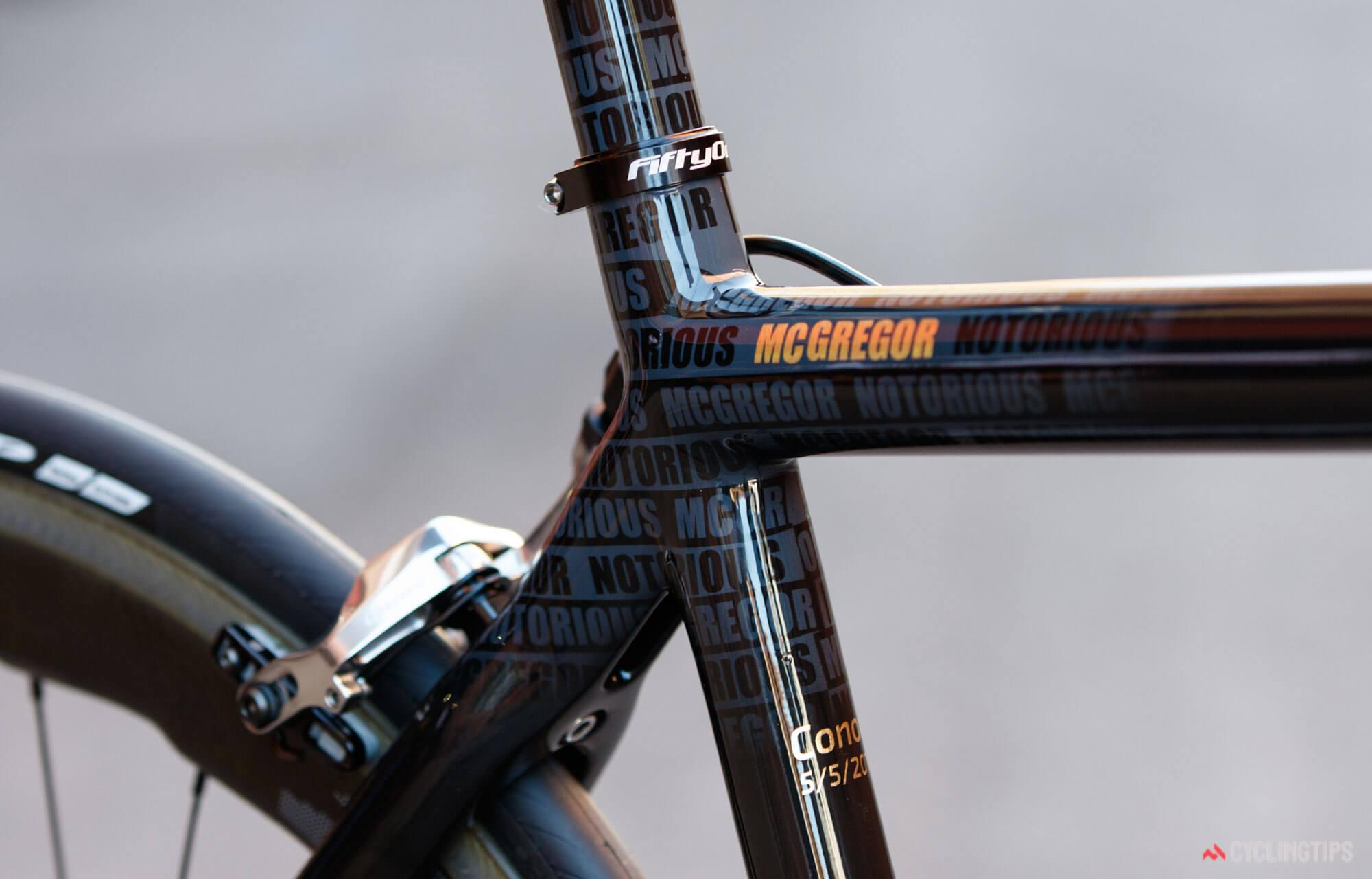 Золотой велосипед Конора МакГрегора, фото 9