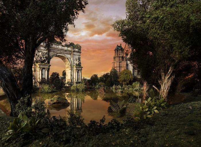 Как может измениться мир после апокалипсиса: серия фотографий «Империя»