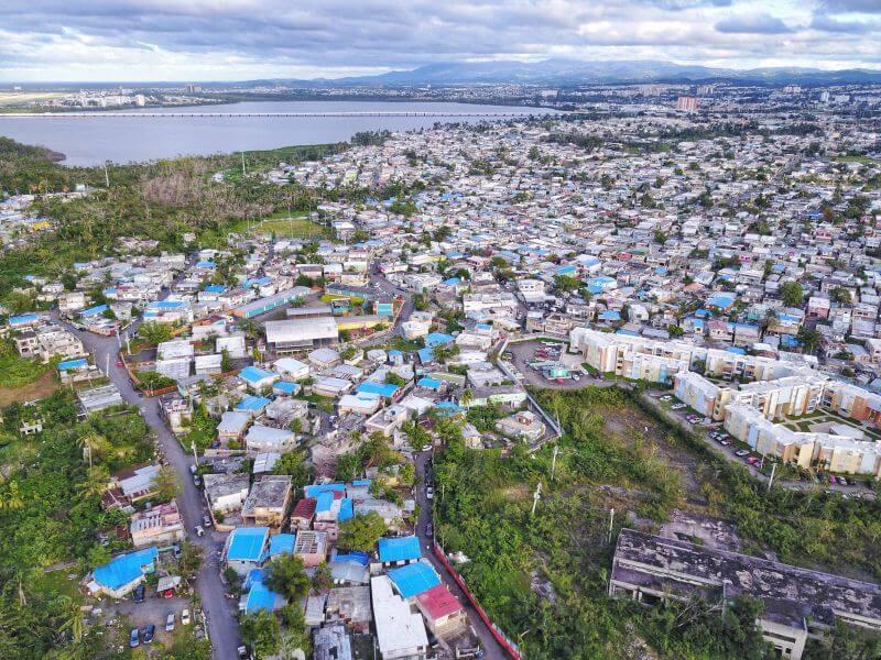 фотографии танцоров на фоне разрушений в Пуэрто-Рико, ураган Мария, фото 8