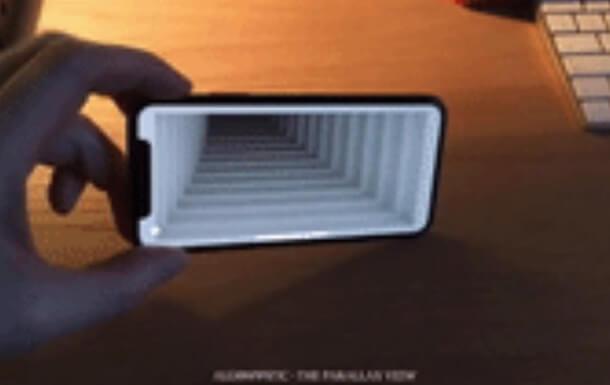 иллюзия в iPhone X, фото 4
