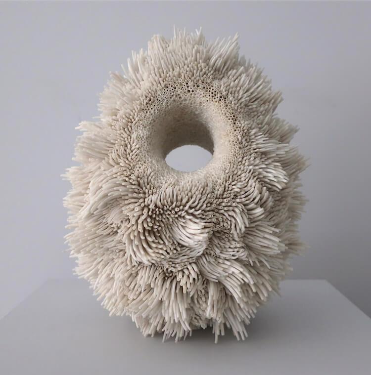 скульптуры из обычных ракушек, фото 3