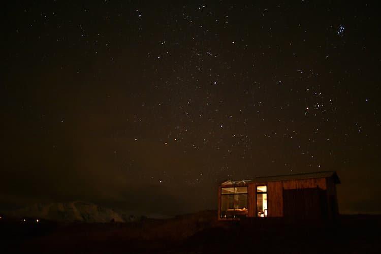 Исландский коттедж с панорамными окнами, северное сияние, фото 8
