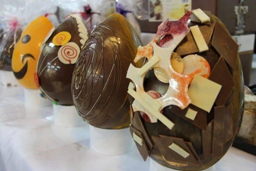 Самый дорогой шоколад в мире, Дизайнерское золотое яйцо , фото 3