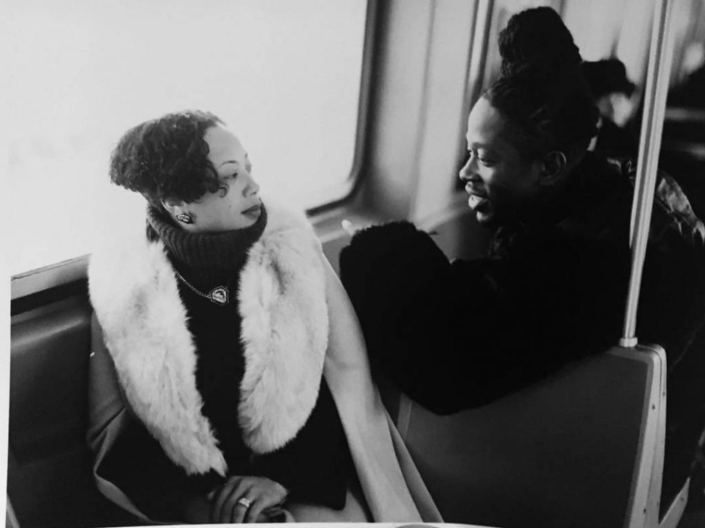 "The Fox & The Wolf."" Манхэттен, в поезде маршрута F. Начало 2000-х."