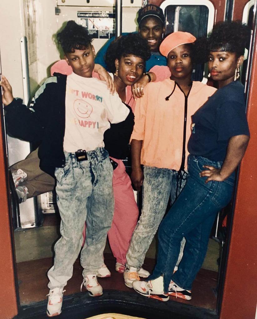 «Субботним вечером в прямом эфире». В поезде № 2 из Браунсвилла, Бруклин. Начало 1990-х.