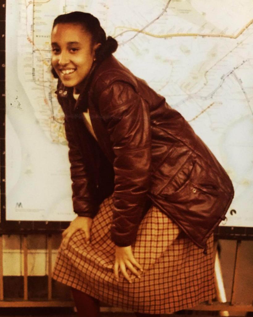 «Юная королева». Станция Атлантик-авеню в Бруклине. 1982.