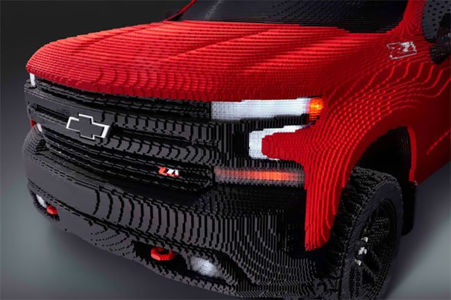 Chevrolet Silverado из лего, фото 3