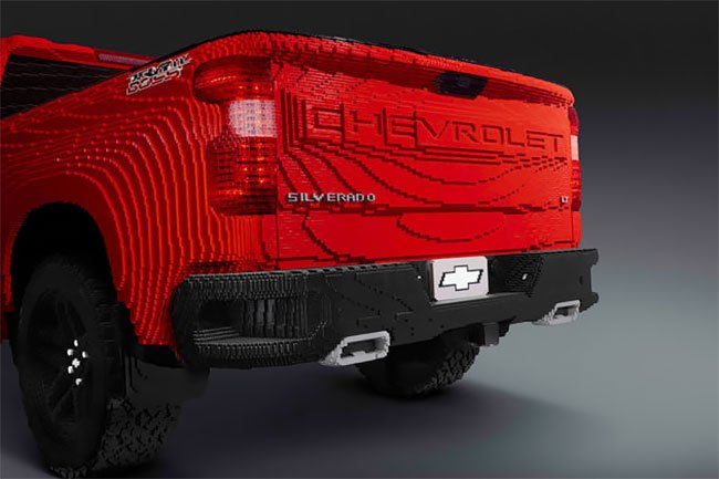 Chevrolet Silverado из лего, фото 4