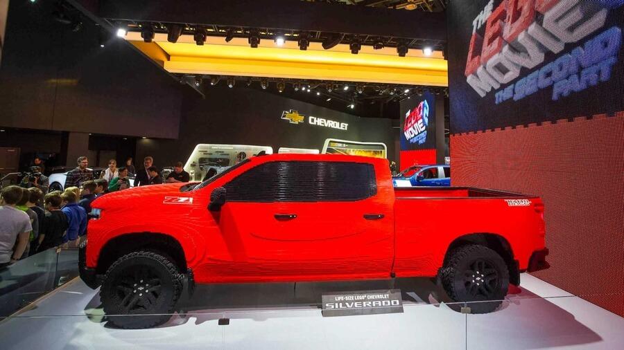 Chevrolet Silverado из лего, фото 5